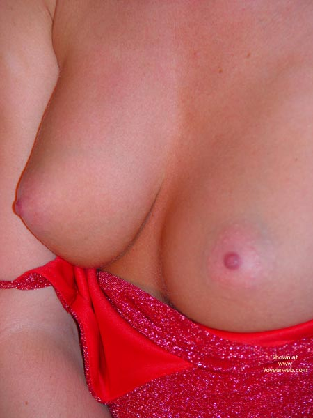 Topless Red Dress - Close Up, Red Dress, Topless , Topless Red Dress, Close Up, Topless, Red Dress