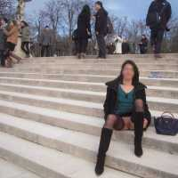 """Nadia Flashing Her Pussy in Paris - Exposed In Public, Flashing, Nude In Public , We Are In The """"quartier Latin """" Who Is The Students Place Of Paris. This Is A Neighborhood With Many Universities And Very Touristy"""