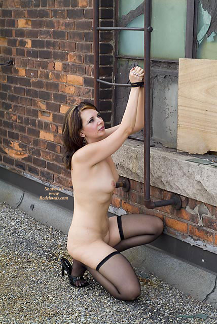 Opinion you Nude women tied up outside happiness!