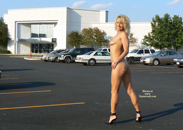 Nude Milf In Parking Lot - Blonde Hair, Long Hair, Milf, Perfect Tits, Topless, Naked Girl, Nude Amateur , Smiling Broadly To Camera, Firm Body, Tit And Ass Profile Shot, Black Stilettos, Standing Nude In Parking Lot, Long Curly Blond Hair, Topless Body Profile, Tattoo On Ass, Nude Shopping Back View, Nude Parking