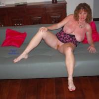 LisaJane On A Path - Big Tits, Redhead