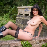 Wall - Brunette Hair, Sexy Lingerie , An Afternoon On A Mystery Place