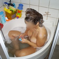 bath time , Sabrina,Wet,Tits,Ass,Shaving,Pussy