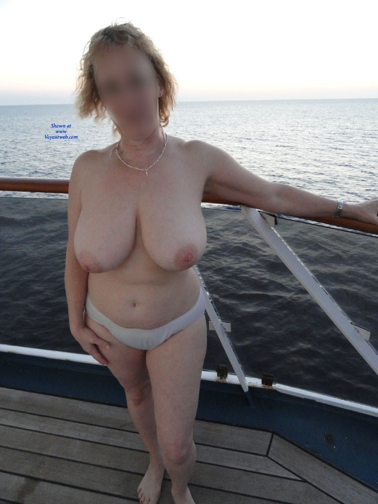 Pic #1Fun at Sea - Big Tits, Mature