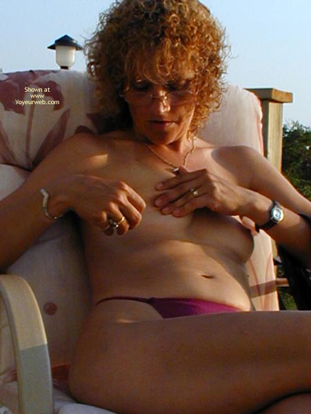 Pic #1 *Ty  Nipple And Pussy Play Outside