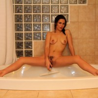 Bath Time - Wet, Latina , You Know? It Is Just Sooo Relaxing To Climb Into A Steaming Hot Jacuzzi Tub - Such A Great Way To End The Day, Just Before Climbing Into Bed.