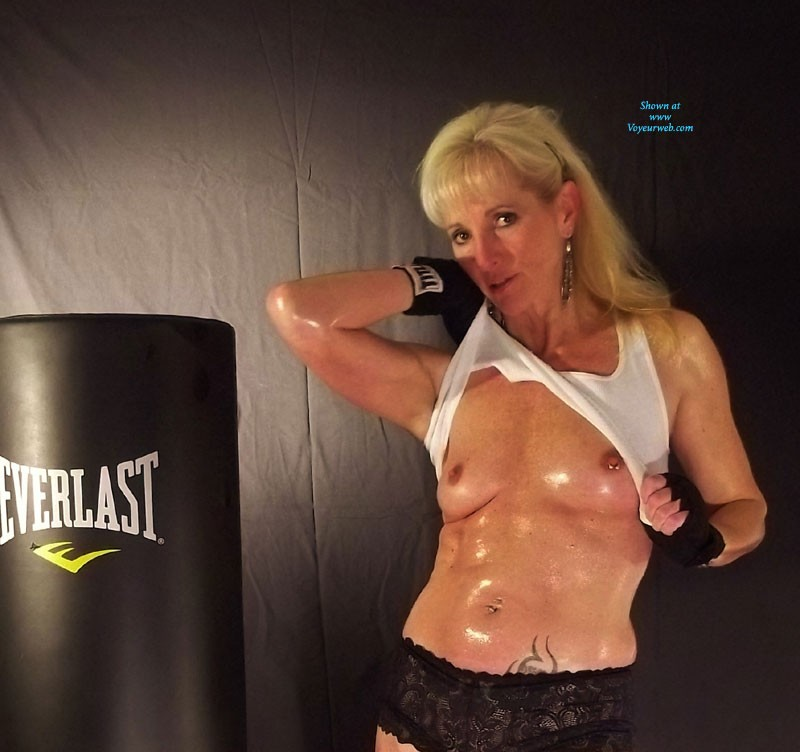 Boxing - Blonde Hair, Mature , Always Looking To Stay HOT And Sweaty. Not Bad For A 50 Something MILF. Loves To Go A Few Rounds With Hot, Sexy Boy Toys!