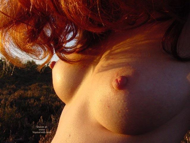 Nipple Shot - Perky Tits, Red Hair , Nipple Shot, Red Hair, Perky Tits
