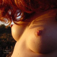Nipple Shot - Perky Tits, Red Hair , Nipple Shot, Red Hair, Perky Tits