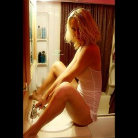 Sexy Girlfriend Sitting On Bathroom Counter Facing Sink Spread Legs - Blonde Hair, Spread Legs, Hot Girl, Looking At The Camera, Naked Girl, Nude Amateur , Sexy Lips On Blonde, Riding The Sink, White Sheer Cami, Blonde White Lingerie, Sheer Teddy, Sexy Blonde, Cleaning Pssy, Blonde Tight Body, White See Thru, Bare Feet, White Teddy
