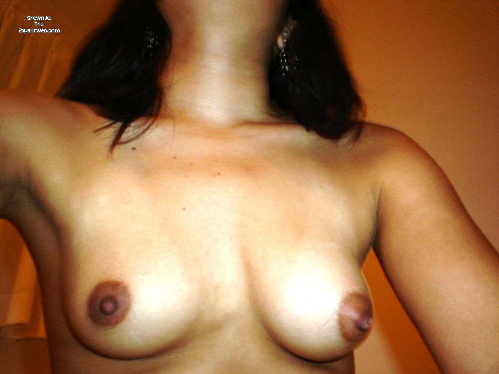 Pic #1Small tits of my girlfriend - Carolina