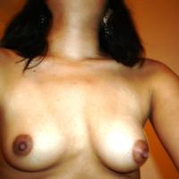 Small tits of my girlfriend - Carolina