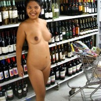 Nude Out And About - Public Exhibitionist, Public Place