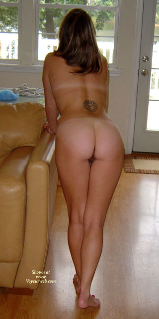 Heart Shaped Ass With Tan Lines - Brown Hair, Long Hair, Tan Lines, Naked Girl, Nude Amateur, Nude Wife , Peeking Pussy, Bent Over The Couch, Indoor Ass, Bent Over From Behind, Tatoo On The Back, Naked Wife, Full Nude From Behind, Shapely Firm Legs