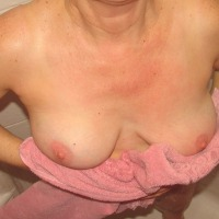 Medium tits of my wife - Deedee