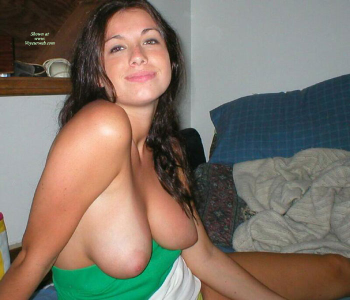 Girlfriend has huge tits