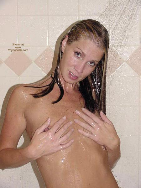 Shower - Shower , Shower, Hands Over Breasts, Standing In Shower, Squeezing Nipple