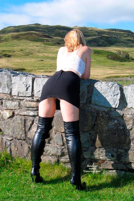 Kirsty's New Boots , Hubby Bought Me Some New Boots, So I Just Had To Take Them Out For A Photosession