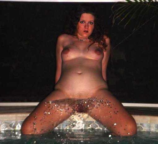 Pic #1 Preggo Fairy Getting Wet!