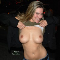 Flashing Tits - Big Tits, Blonde Hair, Flashing, Long Hair, Small Tits , Nice Tits Flashing, Small Nipples, Large Tits Small Nipples, D-cup Tits, Great Tits, Happy Smile, Flashing Breasts Outdoors, Tits In Street