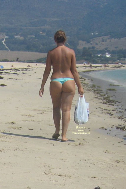 Another Thong! , A Lovely Butt In Southern Spain!