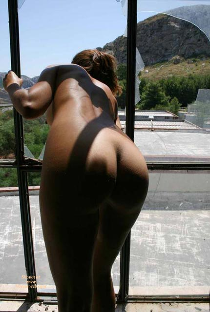 Nude Tan Girl Looking Through Broken Window - Naked Girl, Nude Amateur , Butt Through Bars, Nice Tanned Ass Bent Over, Peeping Out Of Shattered Windowpane, In Front Of Window, Nude Backside, Tanned Ass, All Nude, Nude Leaning Out A Broken Window, Curvaceous Buttocks, Bent Over With Ass Out, Nice Shapely Ass, Great Ass, Broken Window