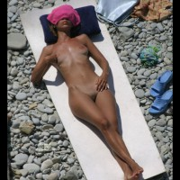 Nude On A Beach - Erect Nipples, Shaved Pussy, Bald Pussy, Beach Pussy, Beach Voyeur, Naked Girl, Nude Amateur , Nipple Tug, Long Erected Nipples, Nude On Beach Towel, Twat Shot, Full Frontal Nudity, Sunbathing On Smooth Rocks, Lying Down Outside, Big Shapely Hips, Lying On Her Back, Nude Sunbather, Lying Down Nude On The Rocks