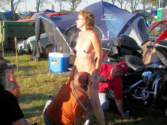 Casually wife biker rally slut