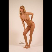 Naked Girl Posing - Blonde Hair, Naked Girl, Nude Amateur , Shapely Legs, Skinny Full Nude, Athletic Body, Hand On Hip, Naked And Proped, Standing Naked, Frontal Nude Leaning Sideways, Standing Slightly Bent Over, Blonde Posing, Hand On Knee