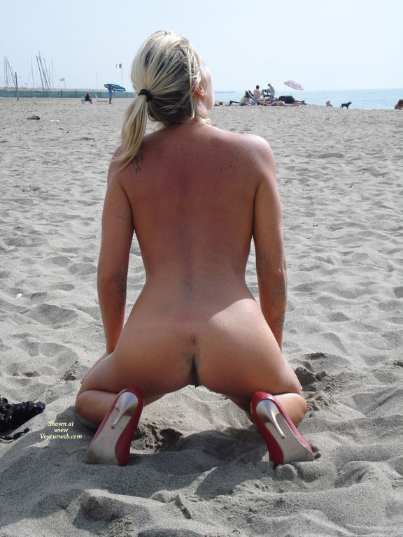 High Heels On The Beach - Heels, Nude Outdoors, Naked Girl, Nude Amateur , Squatting In The Sand, High Heels On Beach, Bare Back, Red Pumps Only, Nude In Heels, Outdoor Ass Shot, Naked In Front Of People On The Beach, Nude Girl Wearing High Heels Only, Rear View Kneeling On Beach