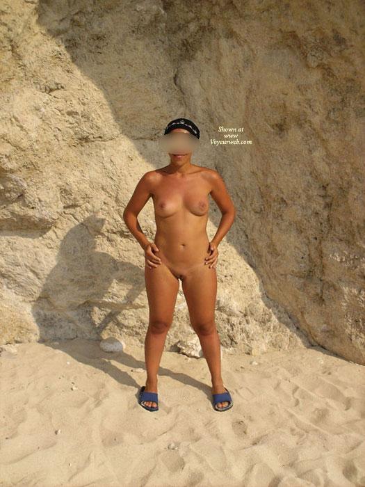 Cristina Posing On The Beach! 3 , Hope You Like!