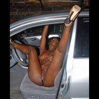 Eve Fixes Her Car