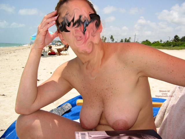 Pic #1 Wife Made My Day At The Beach