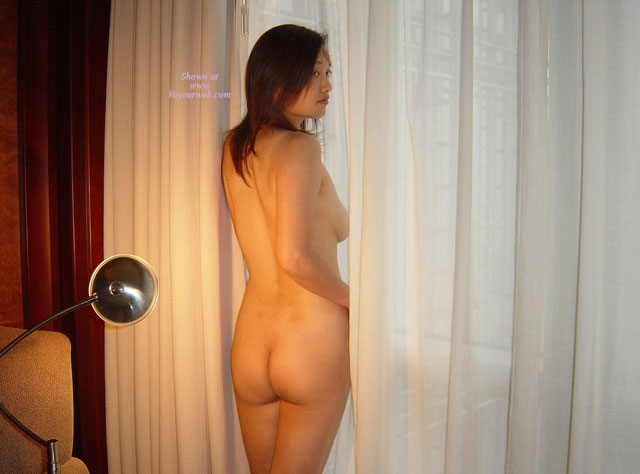 Oriental Woman Ass Shot By Curtains - Naked Girl, Nude Amateur , Head Looking Over Shoulder, Rear View Asian Nude, Rear View Of Nude Looking Over Shoulder, Nude By Window, Indoors Naked Rearview Standing, Nude At The Window, Standing At Hotel Window, Nude Looking Over Shoulder, Naked View From Behind, Flash The Neighbors
