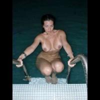 At Pool , Posing At Pool