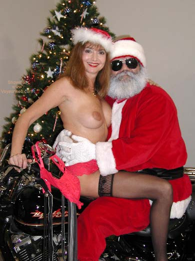 Pic #1 SN Natalie Visits Santa