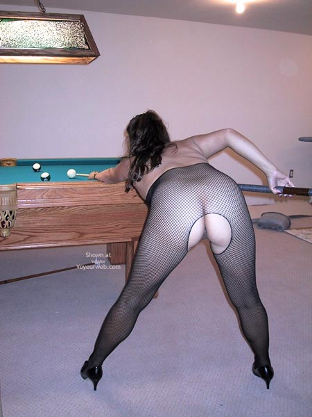 Pic #1 Wife Playing Pool