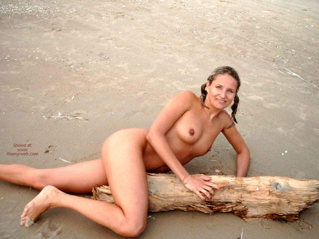 Nude On The Beach - Small Breasts , Nude On The Beach, Breasts On Beach, Small Breasts, Nude On Beach With Pigtails, Long Erected Nipples, Medium Size Tits