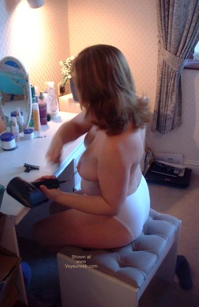 Pic #1 Busty Wife Getting Ready