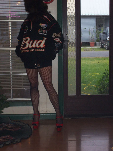 This Bud's 4 U , Here's A Few New Pix Of My Sexy Wife. Thought She Was Pretty Sexy Wearing My Dale Jr. Jacket. Hoping For A Better Year Next Year!