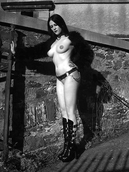 Artistic Shot - Artistic Nude , Artistic Shot, B  W Goddess, Puffy Nipples, Pierced Nipples, Leather And Latex