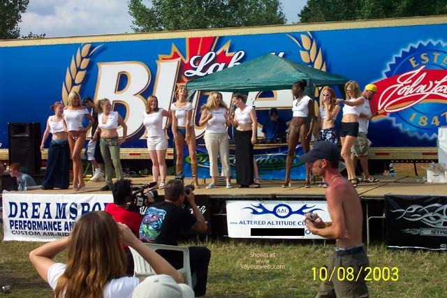 Pic #1 Local Truck Show Wet T'S