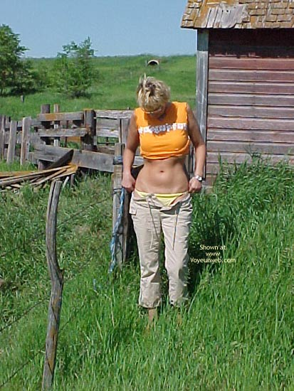 Pic #1 My Dutch Blondie In The Field