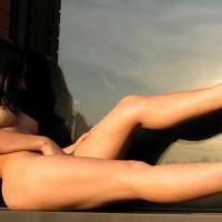 Exposed In Public - Exposed In Public, Long Legs , Exposed In Public, Brunet With Erect Nipples, Long Legs