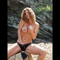 Touching Herself - Big Tits, Nude Outdoors, Touching Herself, Beach Voyeur, Sexy Panties , Touching Herself, Beach, Hand In Panties, Big Boobs, Finding Wetness, Hand Down Panties, Outdoors, Black Panties
