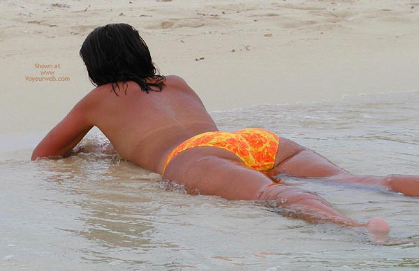 Pic #1 Wife On The Beach