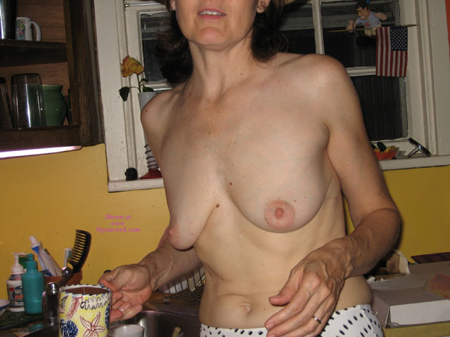 Pic #1 Selfconscious Older Wife