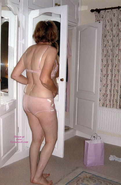 Pic #1 Vera Wearing Her New Underwear