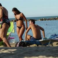 Sweet Italian Beach Girl
