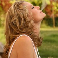 Curly Blonde Hair - Blonde Hair , Curly Blonde Hair, Non-nude, Smoking, Blond Hair